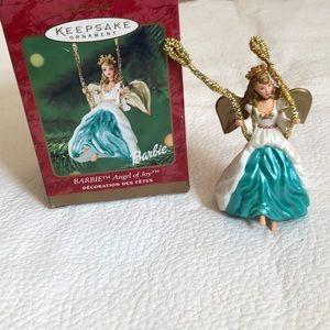 Hallmark Keepsake ornament Barbie Angel of Joy